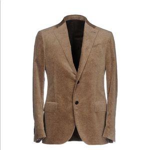 Men's velvet sports coat.